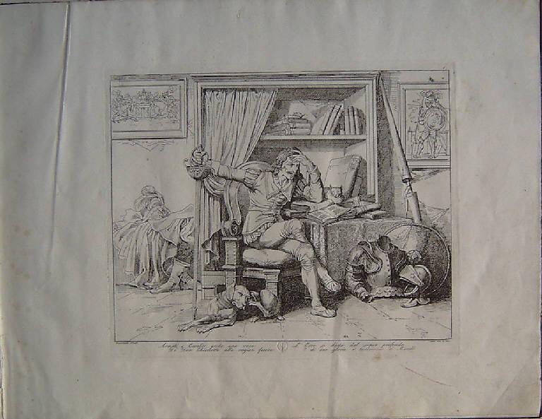 Don Chisciotte (stampa, serie) di Pinelli Bartolomeo, Pinelli Bartolomeo, Pinelli Bartolomeo (secondo quarto sec. XIX)