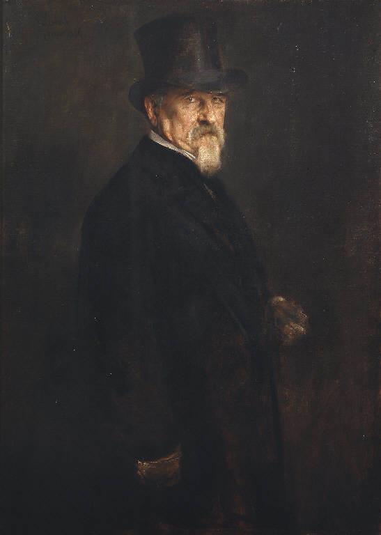 Ritratto di Giovanni Morelli (dipinto) di Lenbach Franz Seraph von (sec. XIX)
