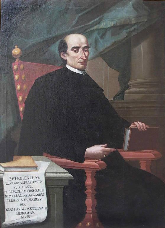 Ritratto del prevosto Pietro Faglia (dipinto, opera isolata) di Teosa Giovanni Battista (terzo quarto sec. XVIII)