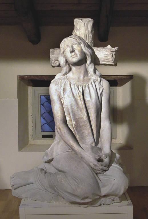 Addolorata (scultura, opera isolata) di Ricci Antonio (fine sec. XIX)