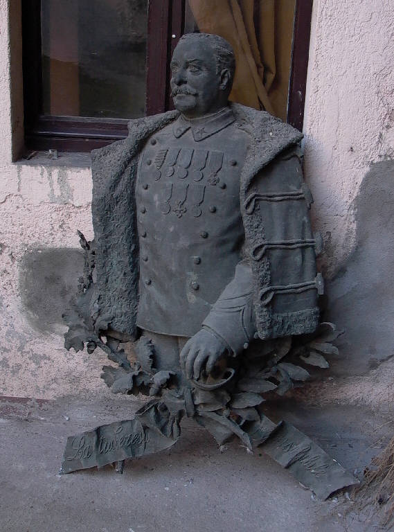 Ritratto di generale (scultura, opera isolata) - ambito italiano (primo quarto sec. XX)