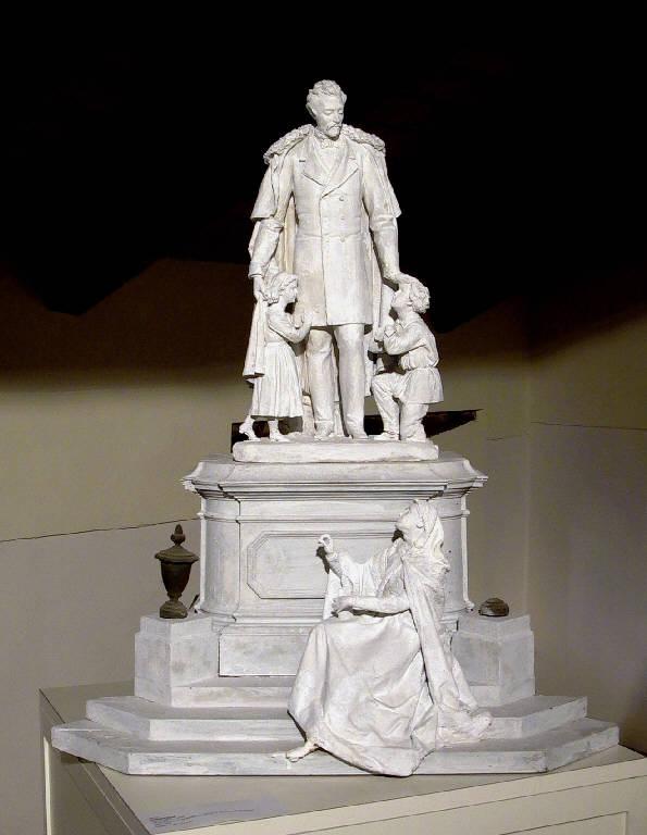 Monumento sepolcrale dei fratelli Bettolini (gruppo scultoreo, opera isolata) di Ricci Antonio (ultimo quarto sec. XIX)
