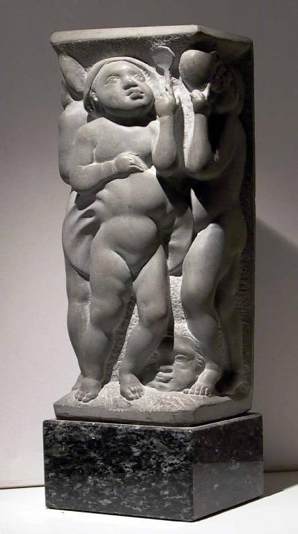 Le quattro stagioni, Allegoria delle quattro stagioni (scultura, opera isolata) di Pelati Vittorio (sec. XX)