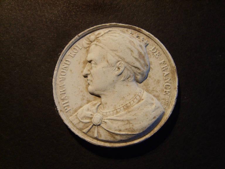 Ritratto di Pharamond re (calco, opera isolata) - ambito italiano (prima metà sec. XIX)