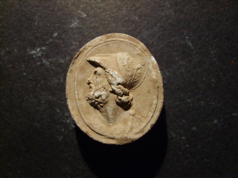 Ritratto di Pericle (calco, opera isolata) - ambito italiano (prima metà sec. XIX)