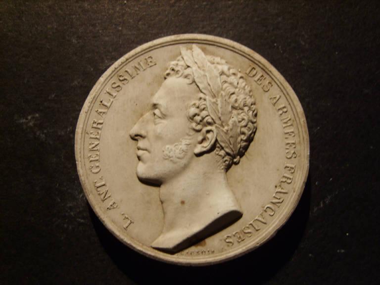 Ritratto di Antonio Bonaparte (?) (calco, opera isolata) - ambito italiano (prima metà sec. XIX)
