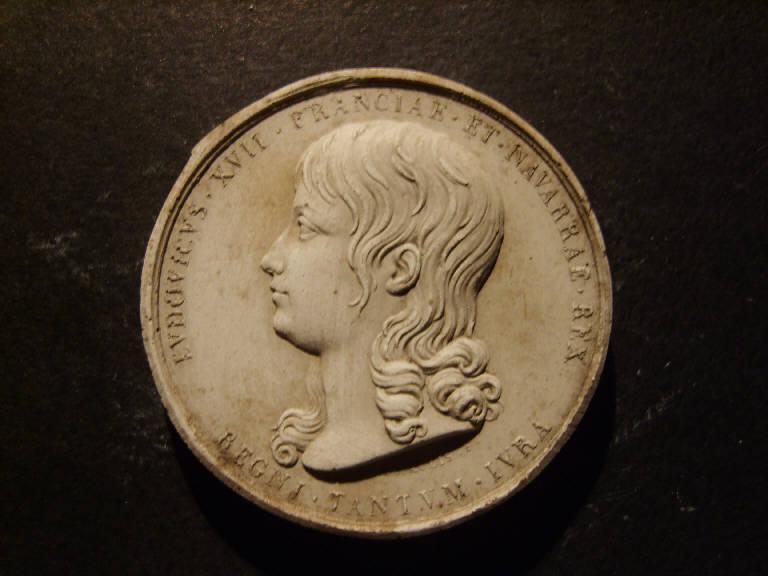 Ritratto di Ludovico XII re di Francia (calco, opera isolata) - ambito italiano (prima metà sec. XIX)