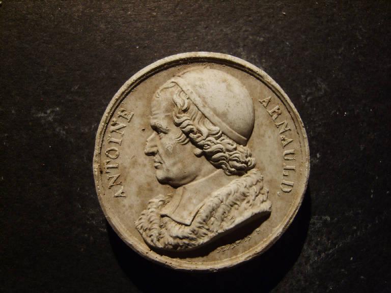 Ritratto di Antoine Arnaud (calco, opera isolata) - ambito italiano (prima metà sec. XIX)