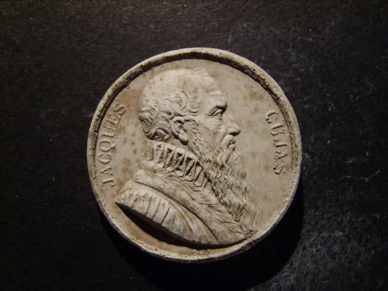 Ritratto di Jacques Cujas (calco, opera isolata) - ambito italiano (prima metà sec. XIX)