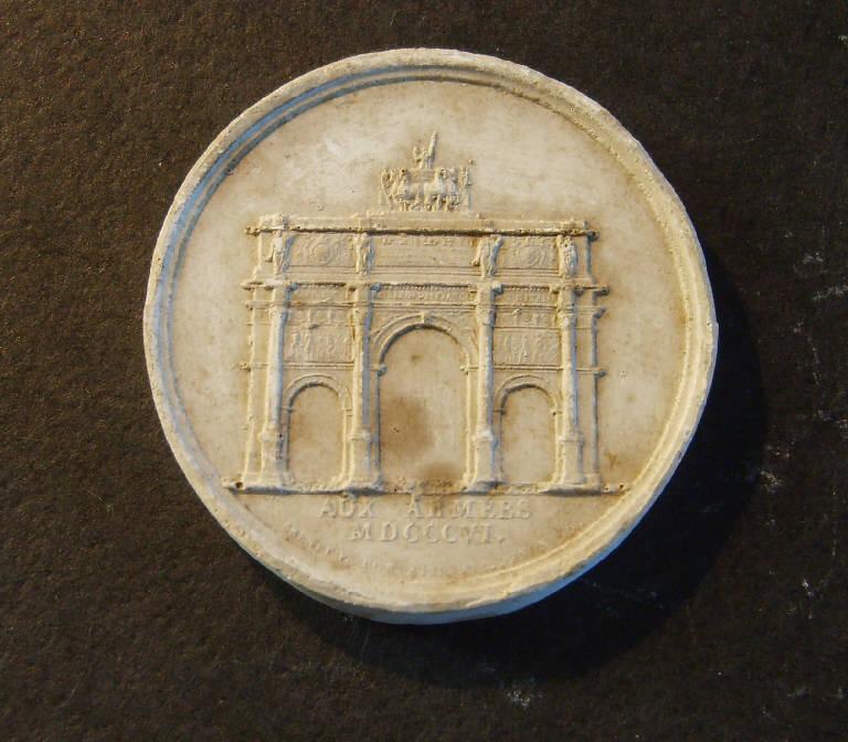 Arc du Carrousel a Parigi (calco, opera isolata) - ambito italiano (prima metà sec. XIX)