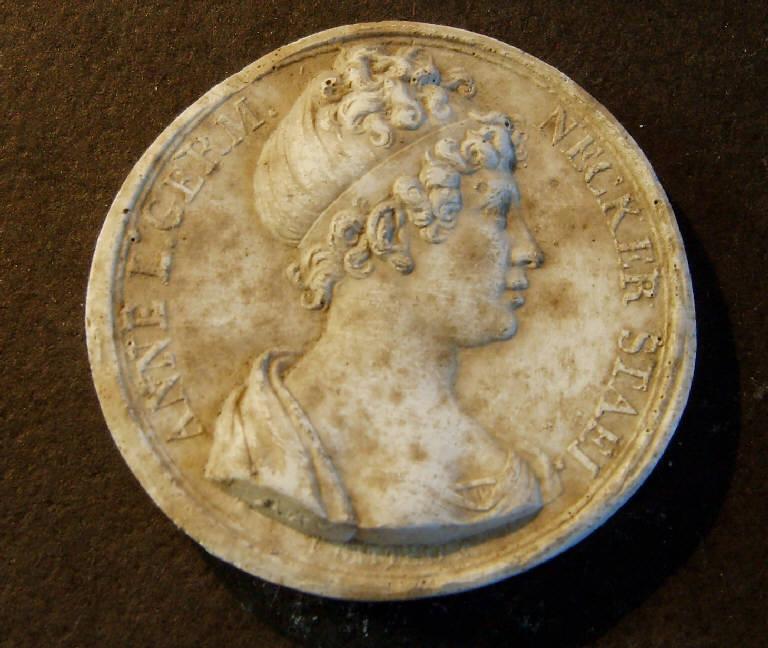 Ritratto di Anna d'Austria (?) (calco, opera isolata) - ambito italiano (prima metà sec. XIX)