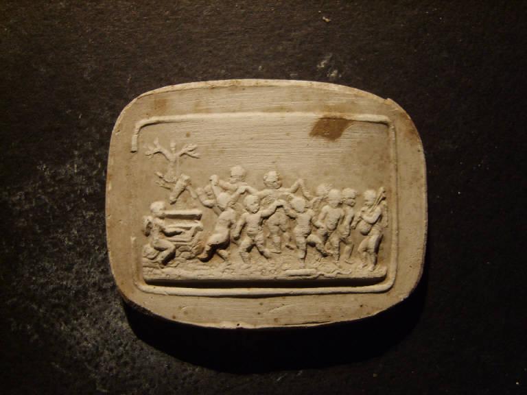 Danza di amorini (calco, opera isolata) - ambito italiano (prima metà sec. XIX)