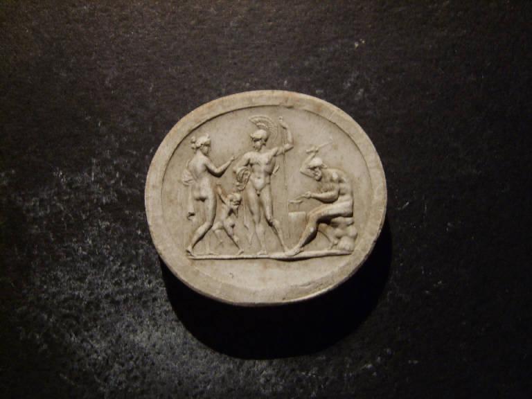Venere, Amore, Marte e Vulcano (calco, opera isolata) - ambito italiano (prima metà sec. XIX)