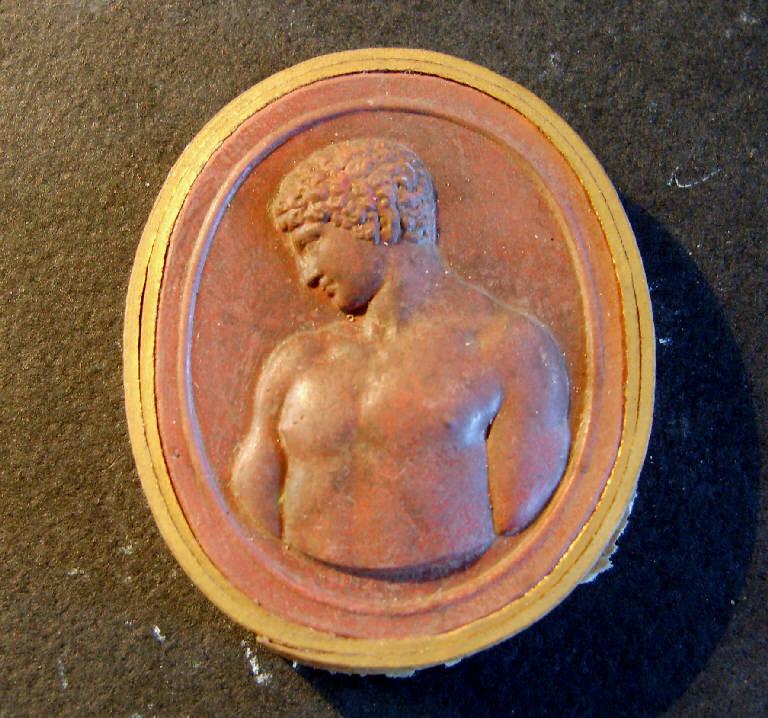 Busto di giovane (calco, opera isolata) - ambito italiano (prima metà sec. XIX)