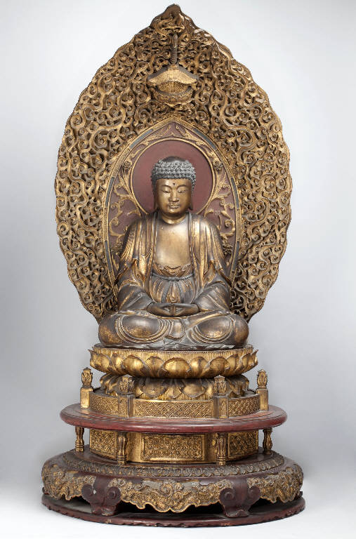 Buddha (statua) - manifattura giapponese (secc. XVII/ XVIII)