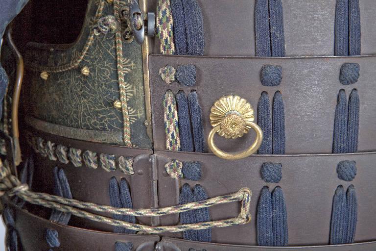 Stemma gentilizio (armatura) - manifattura giapponese (secc. XVIII/ XIX)