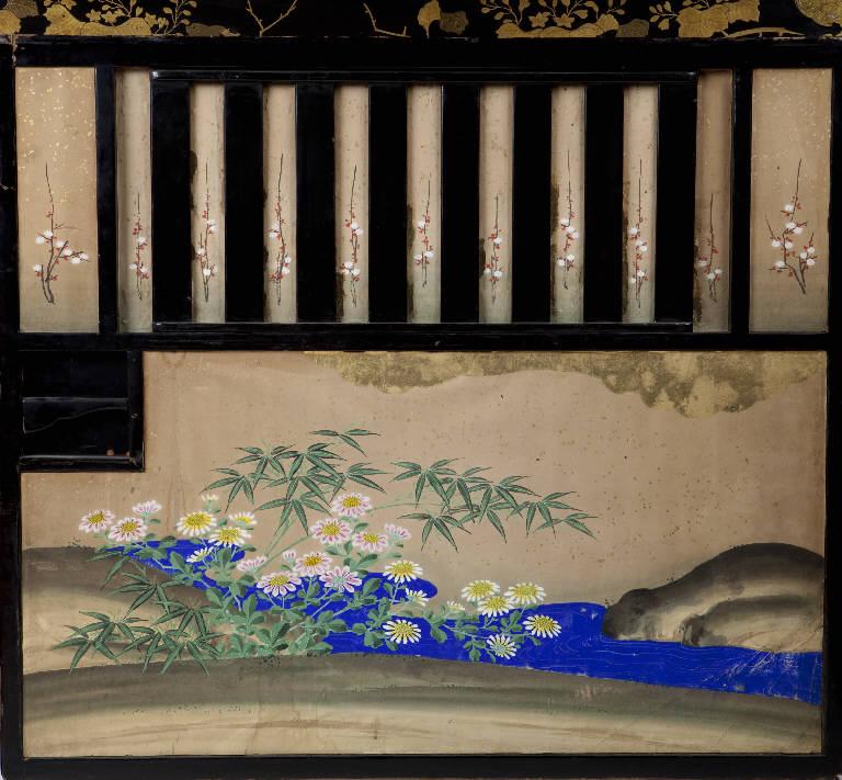 Stemma gentilizio (portantina) - manifattura giapponese (secc. XVIII/ XIX)