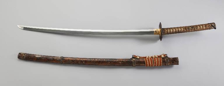 Quaglie e miglio, Motivi decorativi vegetali, Motivi decorativi geometrici (spada) - manifattura giapponese (secc. XVII/ XIX)