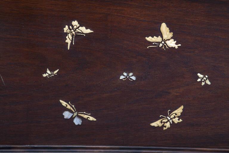 Caccia con il falco (paravento) - manifattura giapponese (ultimo quarto sec. XIX)