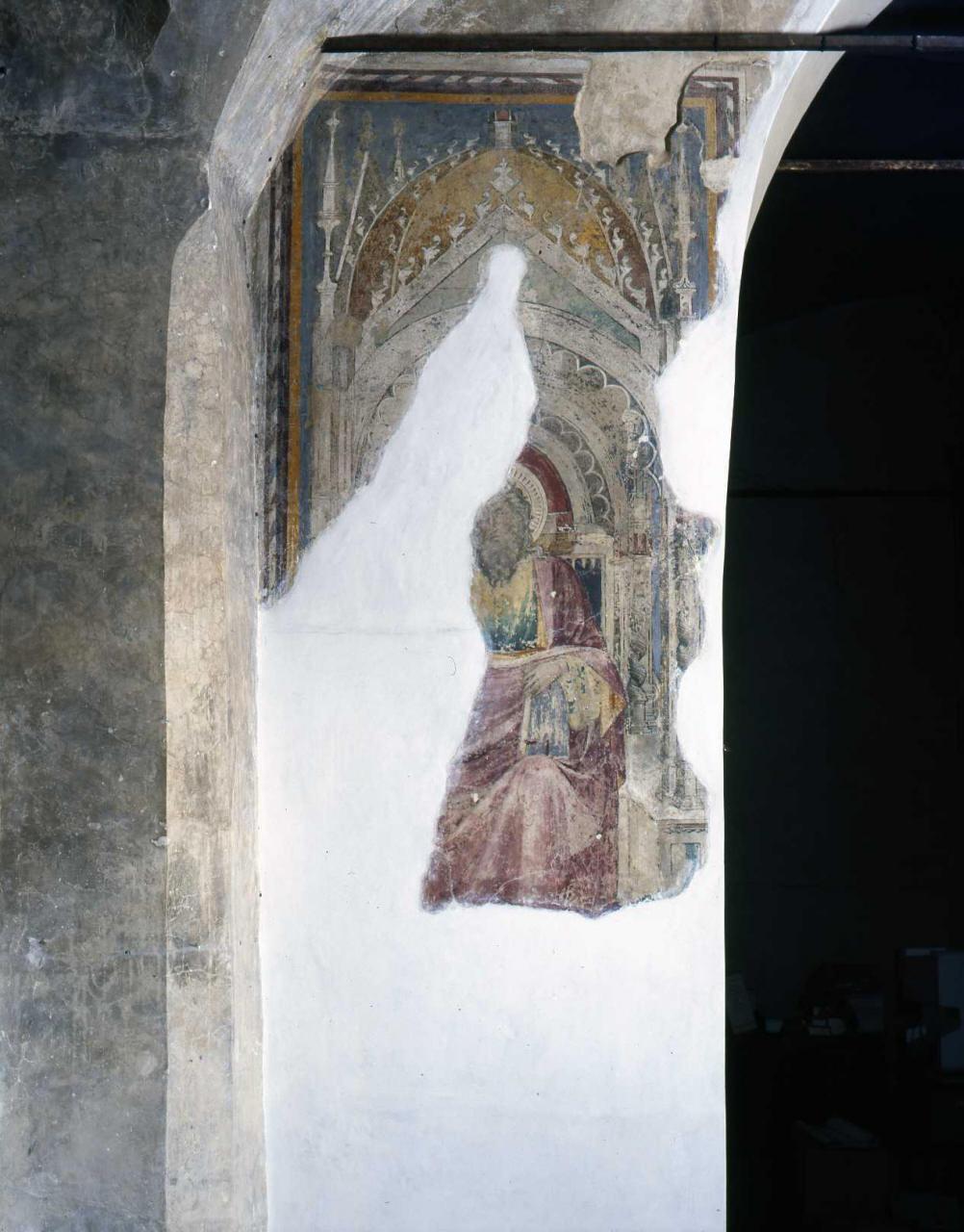 Santo (dipinto) - ambito fiorentino (seconda metà sec. XIV)