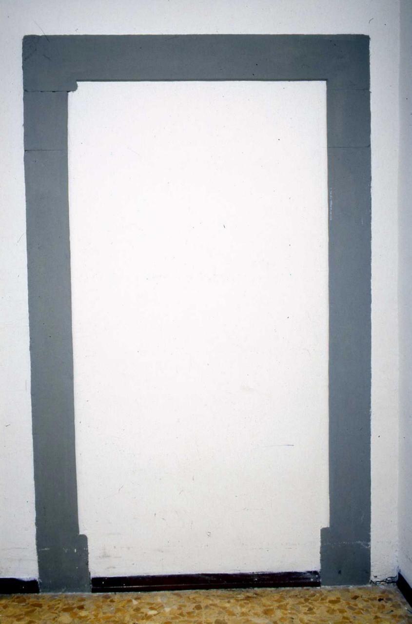 mostra di porta - produzione fiorentina (sec. XV)