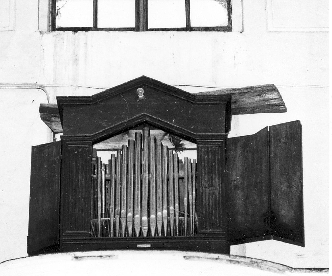 organo, opera isolata di Alvano Pasquale (fine sec. XIX)