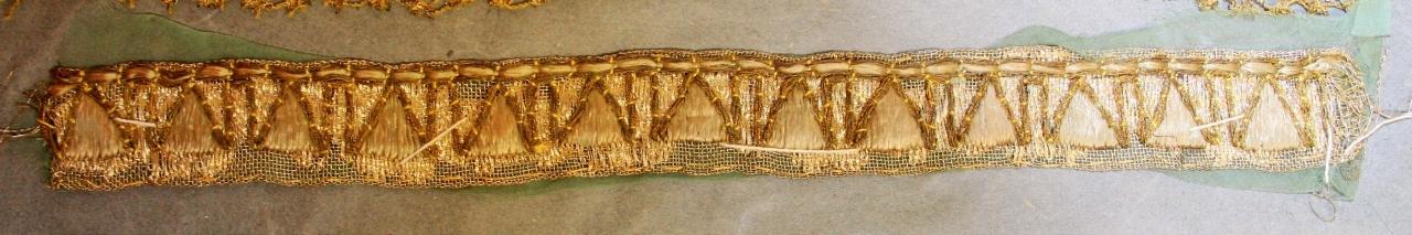 bordura, frammento - ambito milanese (inizio sec. XX)
