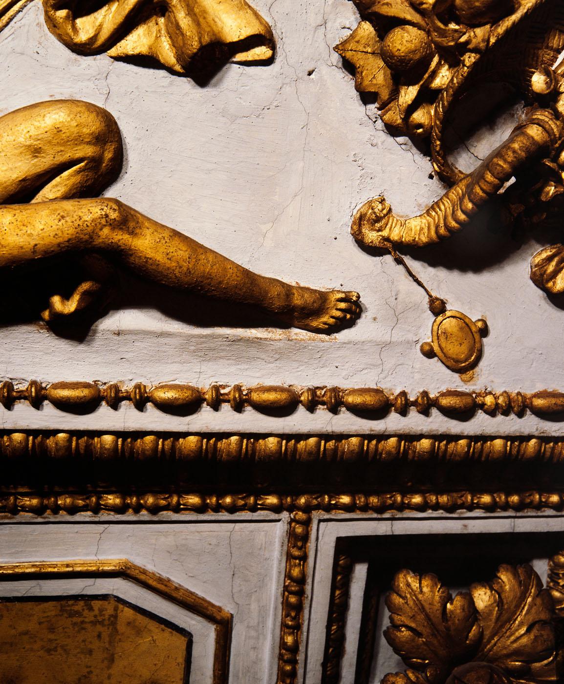 Episodi della vita di Alessandro Magno, episodi della vita di San Paolo, figure allegoriche, virtù e imprese farnesiane (decorazione plastico-pittorica, complesso decorativo) di Bonaccorsi Pietro detto Perin del Vaga, Pellegrini Pellegrino detto Pellegrino Tibaldi, Siciolante Girolamo (sec. XVI)
