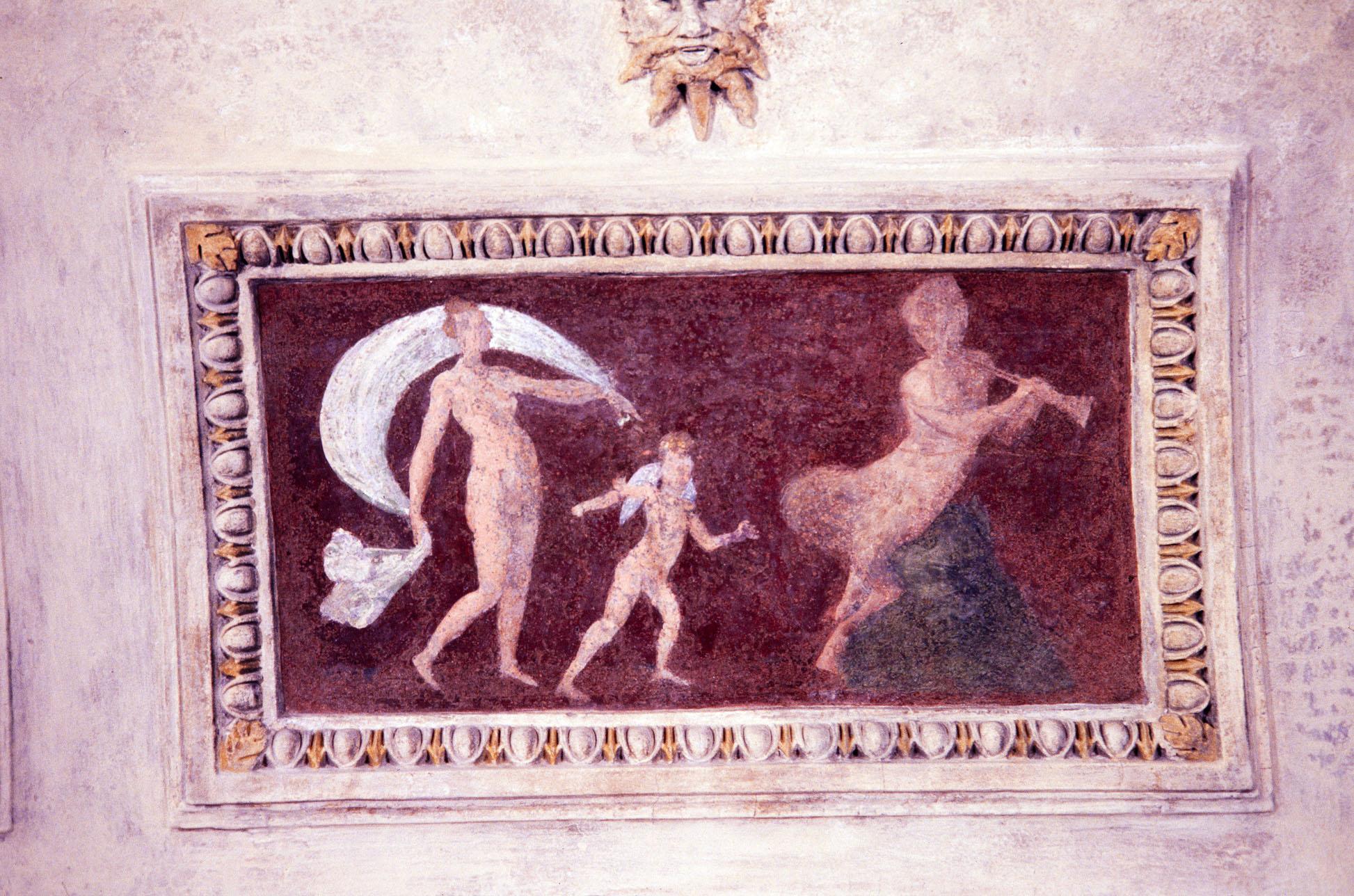 motivi decorativi a grottesche (decorazione plastico-pittorica, complesso decorativo) di Siciolante Girolamo (sec. XVI)