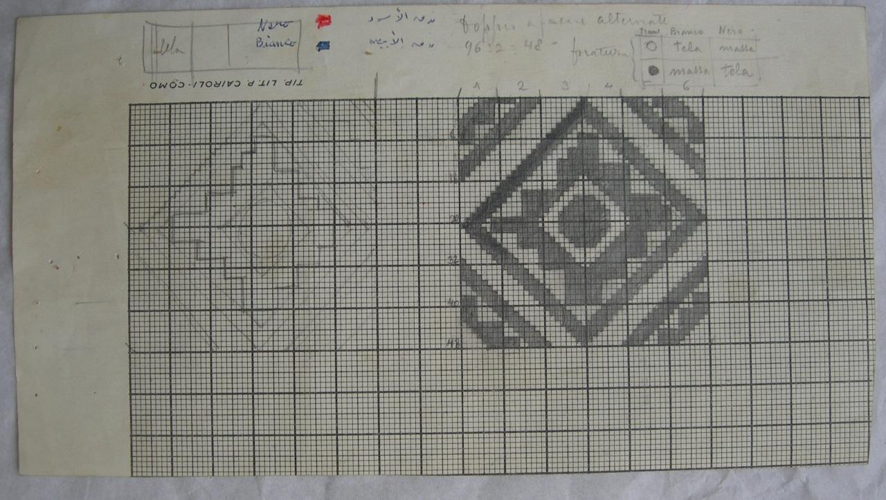 disegno tecnico - ambito fiorentino (sec. XX)