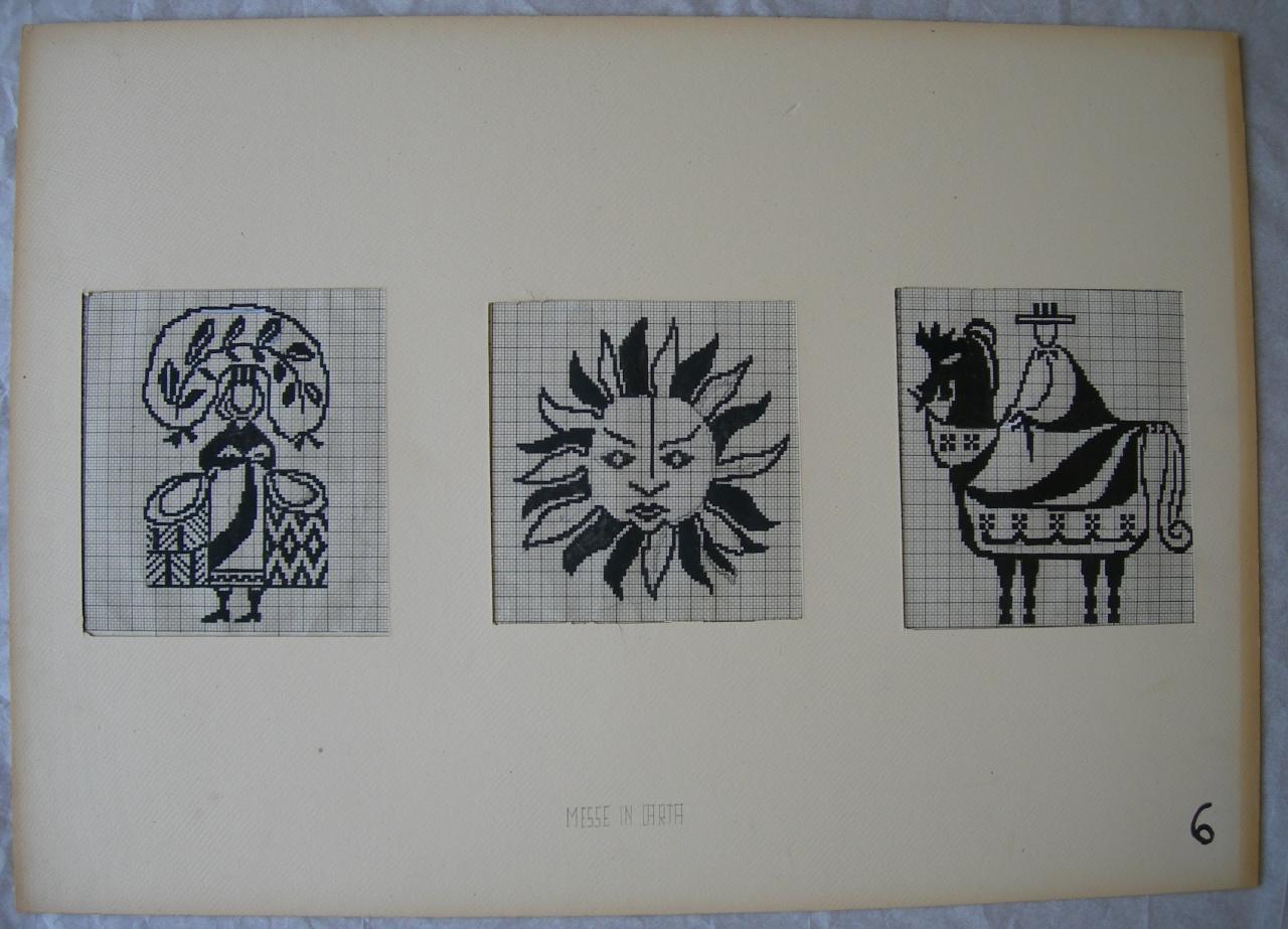 disegno tecnico di Costantini Iris (sec. XX)