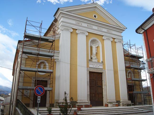 Chiesa Santa Maria degli Angeli (chiesa, parrocchiale) - Colle d'Anchise (CB)
