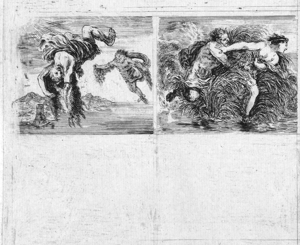 scene mitologiche (stampa, serie) di Della Bella Stefano (sec. XVII)
