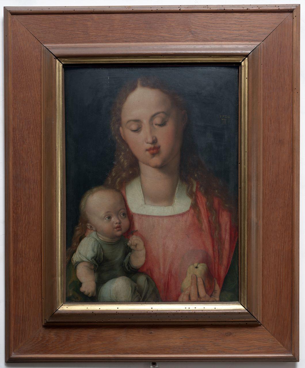 Madonna della pera, Madonna con Bambino (dipinto) di Dürer Albrecht (sec. XVI)