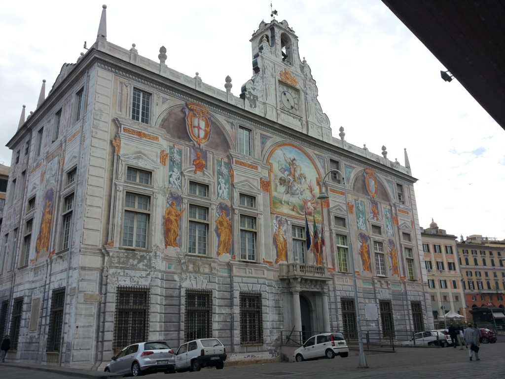Palazzo San Giorgio con edicola votiva (palazzo, pubblico) - Genova (GE)