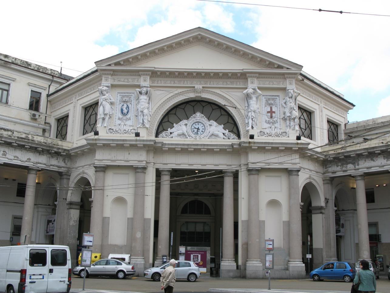 Stazione Piazza Principe (stazione, ferroviaria) - Genova (GE)