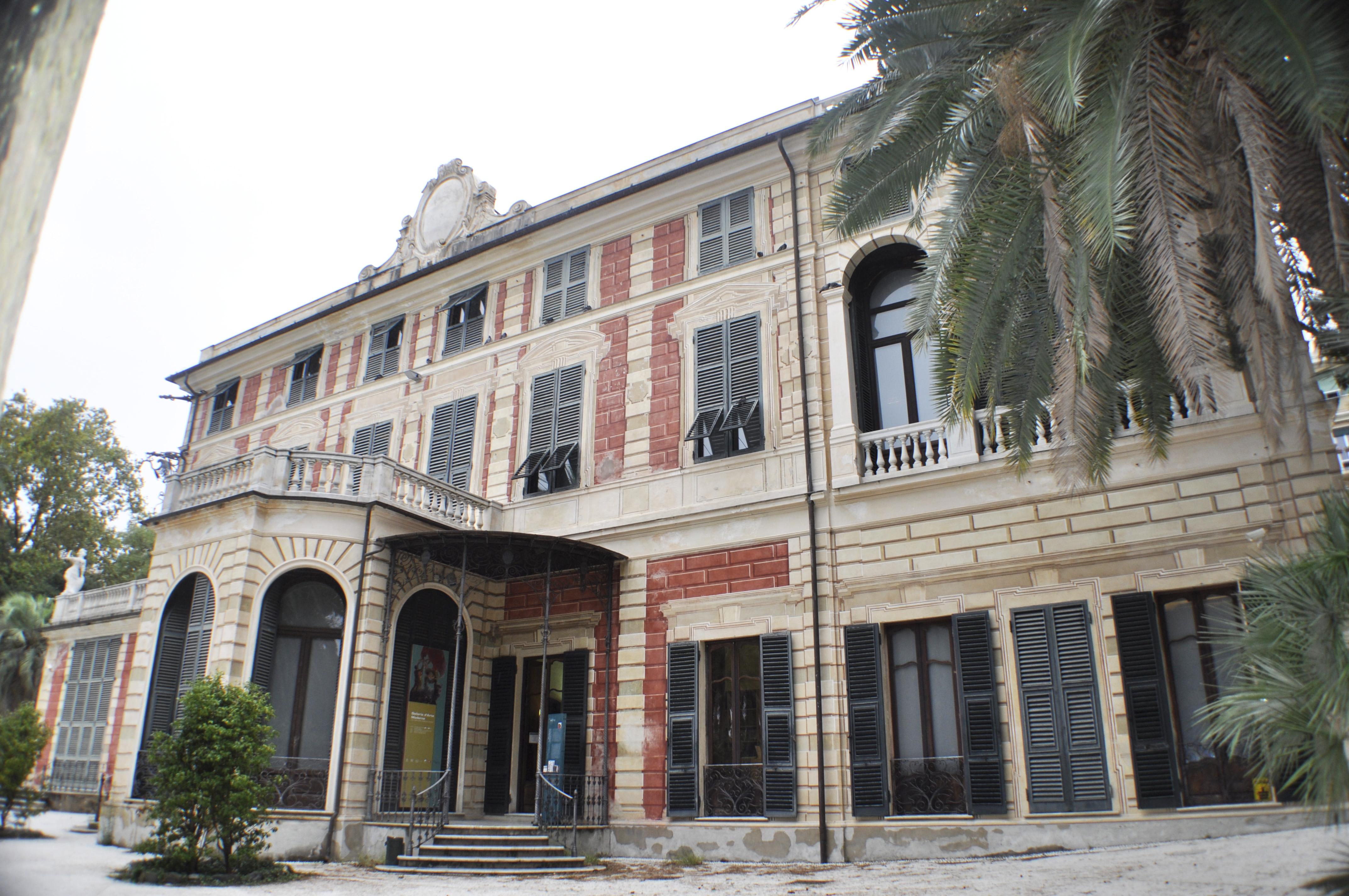 Saluzzo Serra di Nervi (villa, comunale) - Genova (GE)