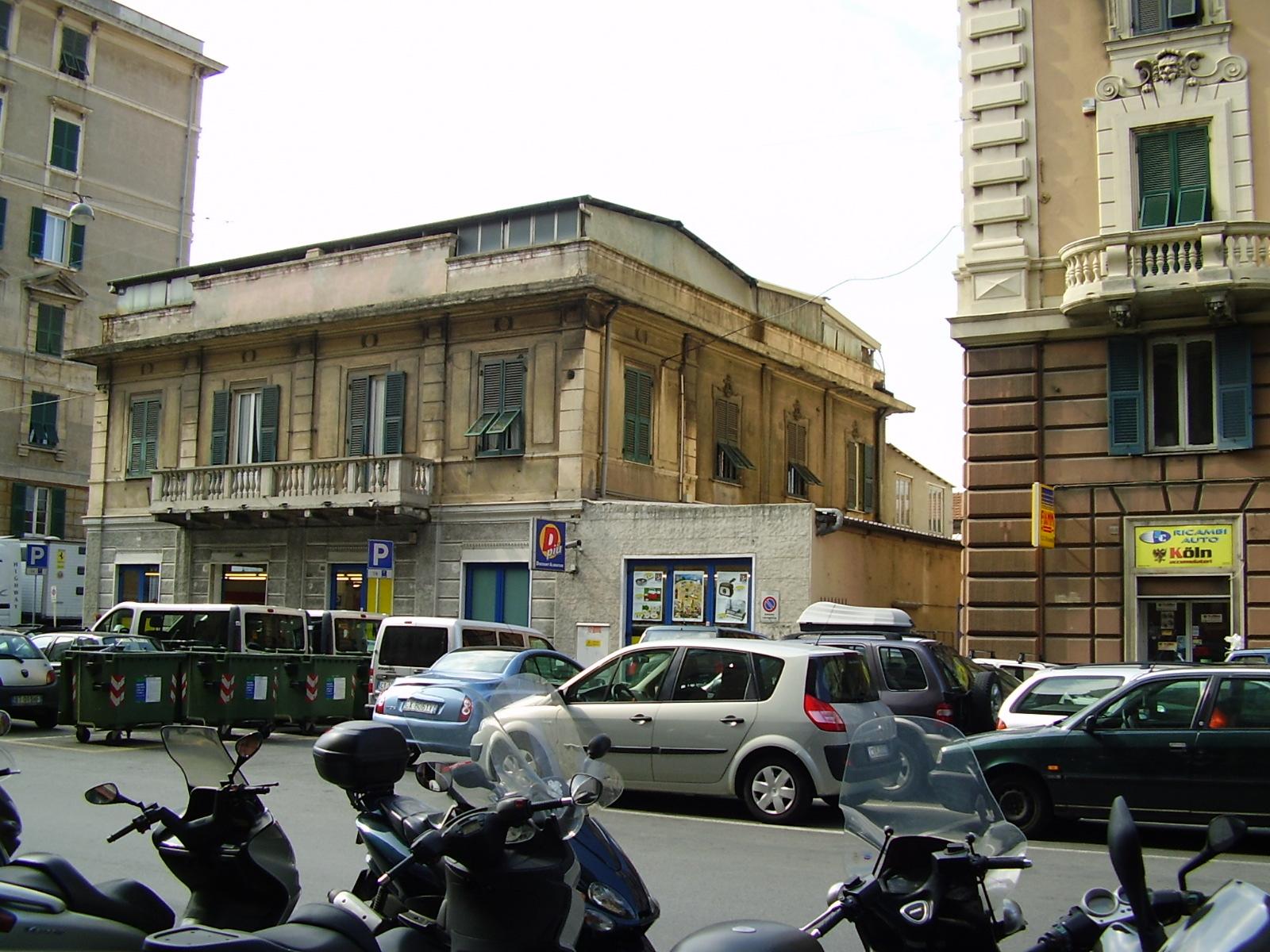 """Edificio dell'ex stabilimento balneare """"Vittoria"""" (stabilimento balneare) - Genova (GE)"""
