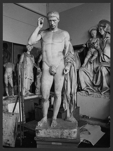 Marco Claudio Marcello come Hermes (statua) - produzione Europa meridionale (secc. XVIII/XX)