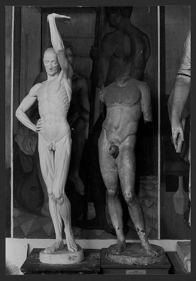 Idolino di Pesaro, Statua porta lucerna (statua) - produzione Italia centro-settentrionale (secc. XVIII/XX)