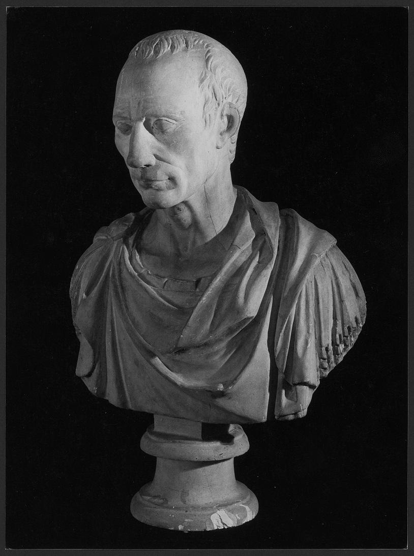 Busto di Giulio Cesare, Gaio Giulio Cesare (busto) - produzione Italia centro-settentrionale (secc. XVIII/XX)