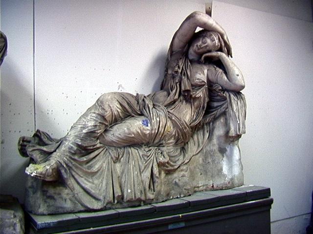 Arianna addormentata, Arianna (statua) - produzione Italia centro-settentrionale (secc. XVIII/XX)