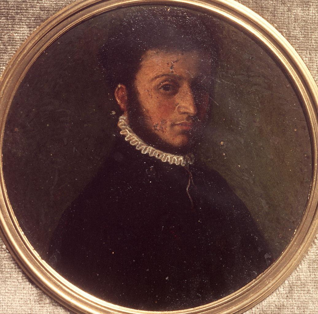ritratto d'uomo (miniatura) - ambito bolognese (?) (seconda metà sec. XVI)