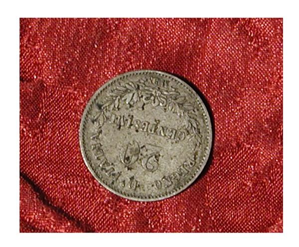 moneta - 20 centesimi di Ferraris Giuseppe - scuola italiana (terzo quarto sec. XIX d.C)