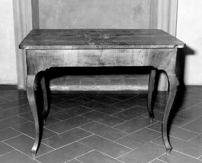 tavolino - bottega toscana (ultimo quarto sec. XVIII)