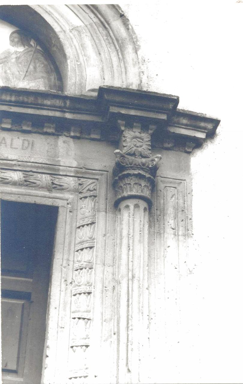 Portale della Chiesa dei SS. Patroni (portale) - Lauro (AV)