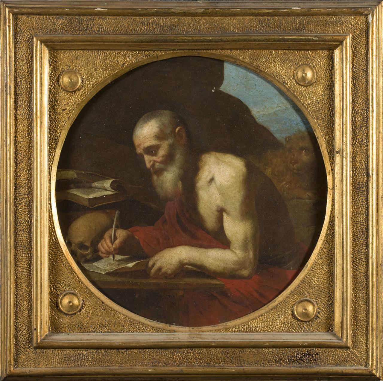 San Gerolamo (dipinto) di Guarino Francesco (sec. XVII)
