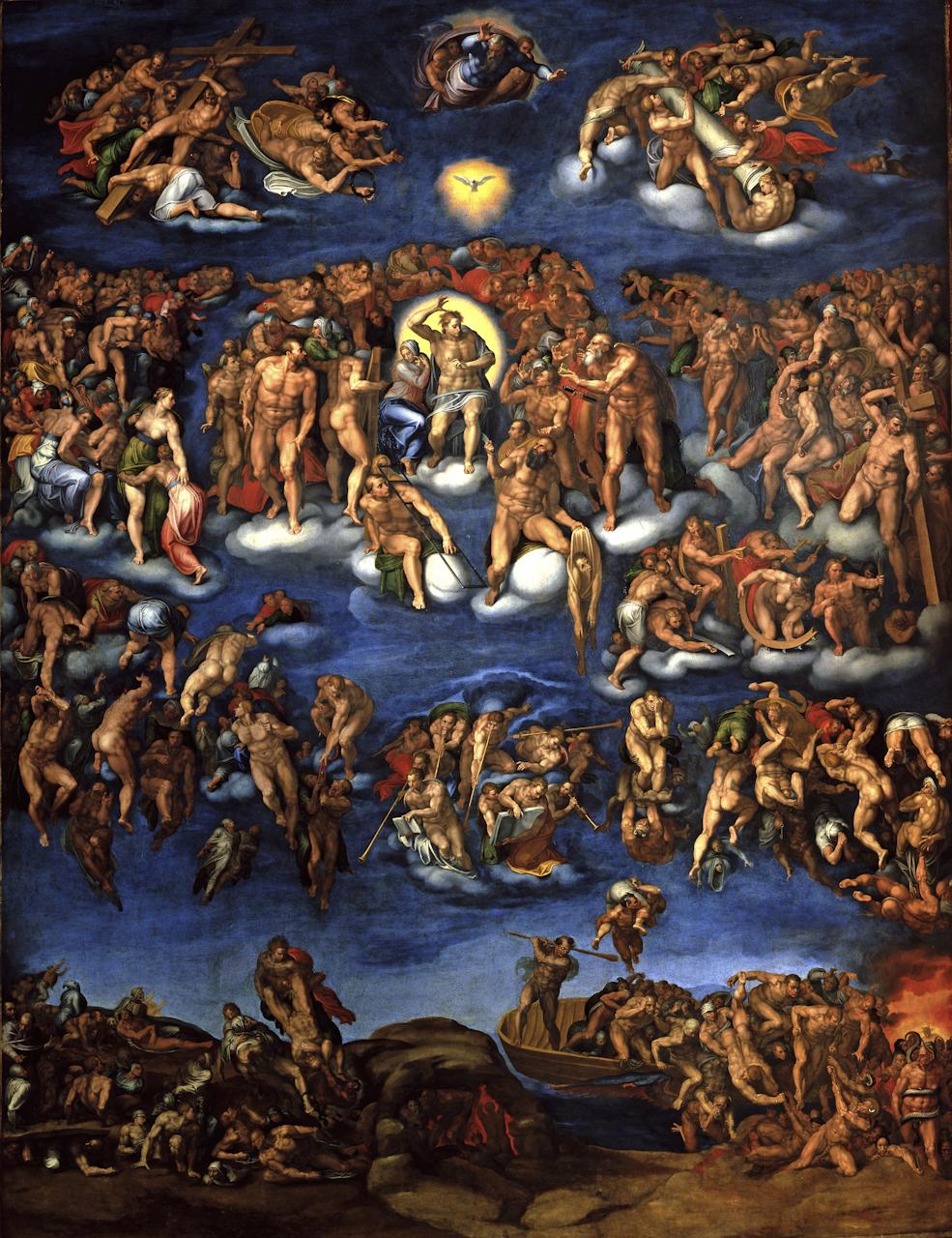 Giudizio Universale (dipinto) di Venusti Marcello (sec. XVI)