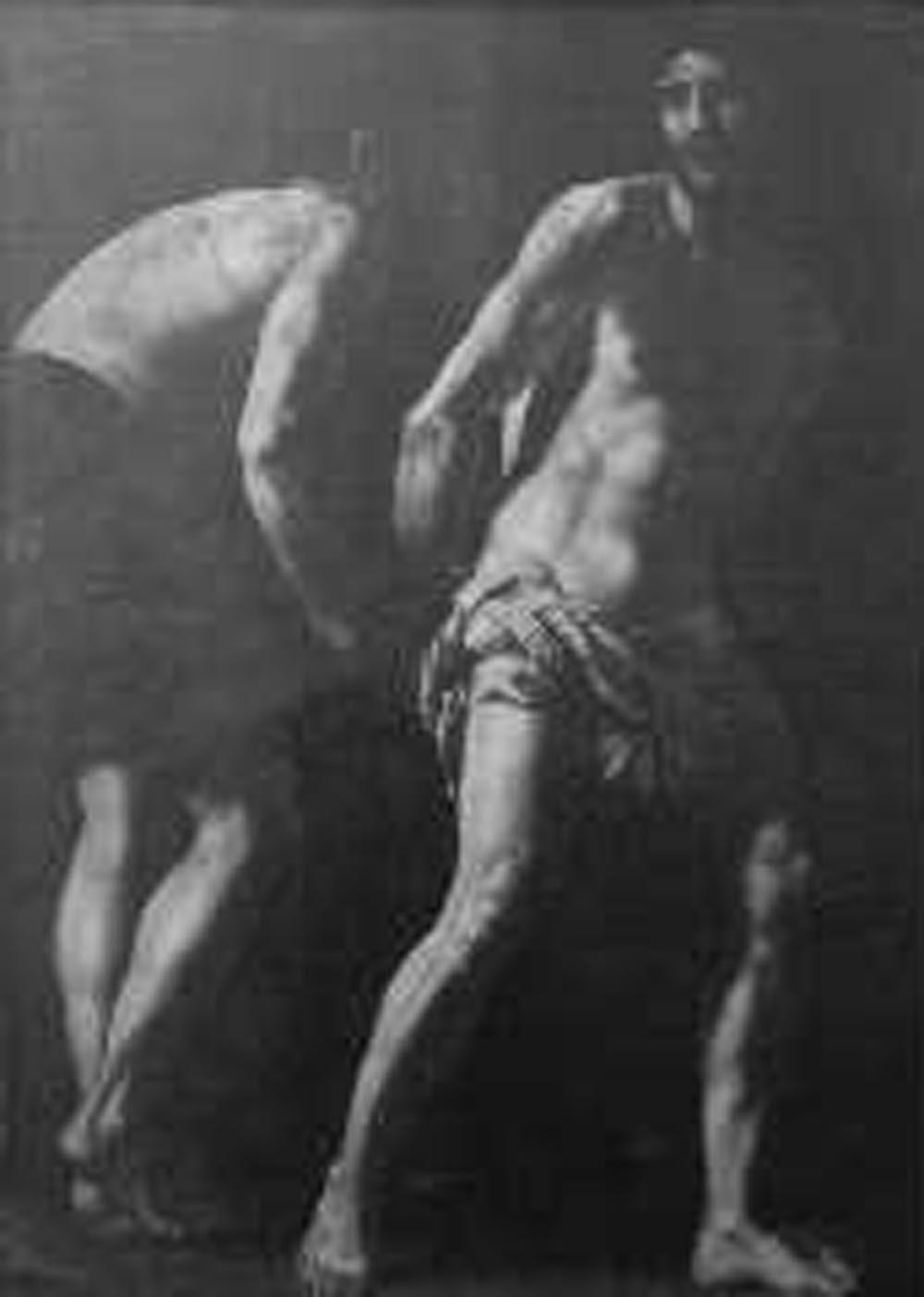 Cristo alla colonna (dipinto) di Caracciolo Giovan Battista detto Battistello (primo quarto sec. XVII)