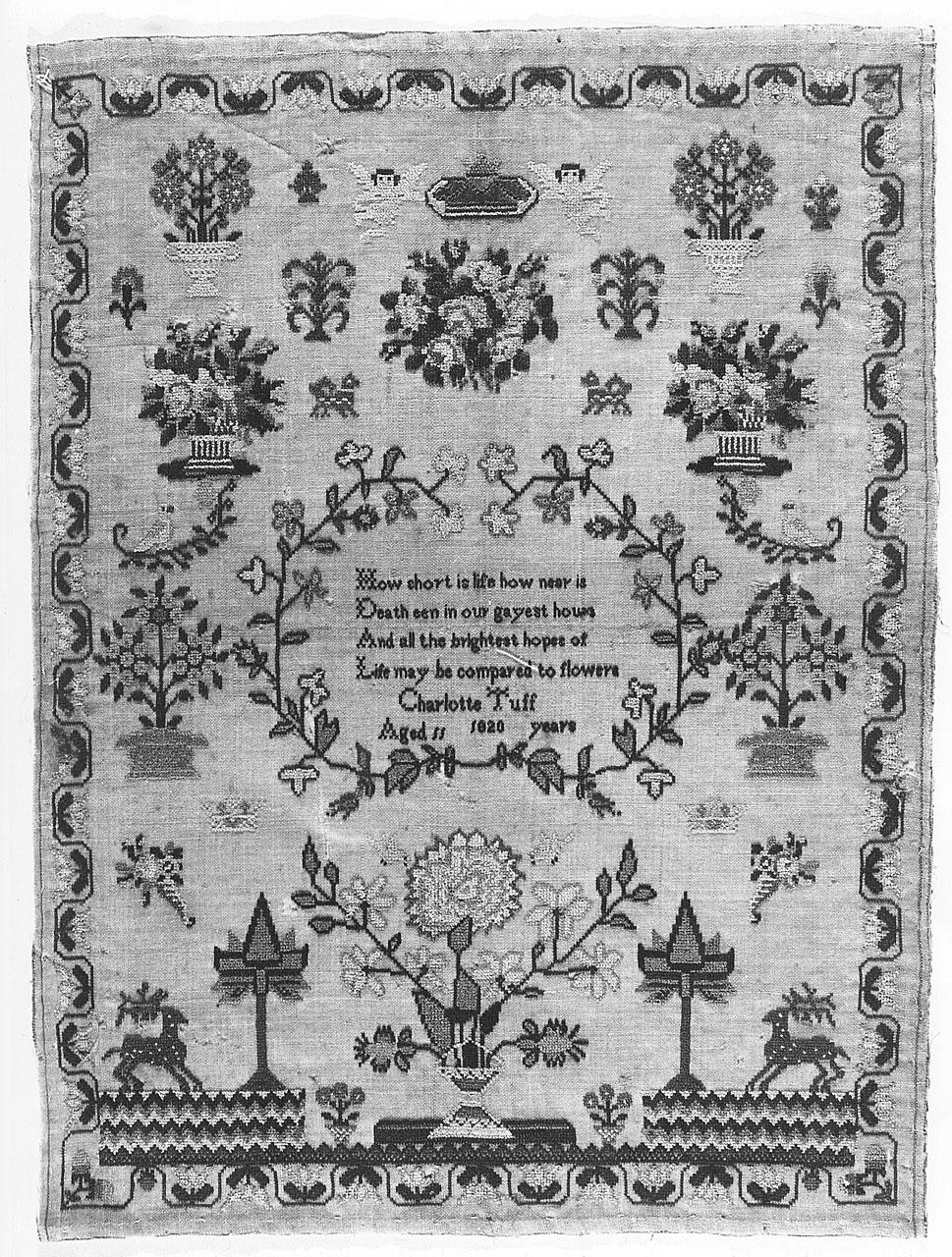 imparaticcio di Tuff Charlotte (sec. XIX)
